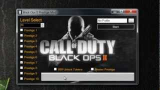 Black Ops II 2 Prestige Mod Level 55 Master Prestige With