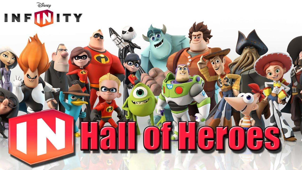 Disney Infinity: Hall of Heroes - YouTube