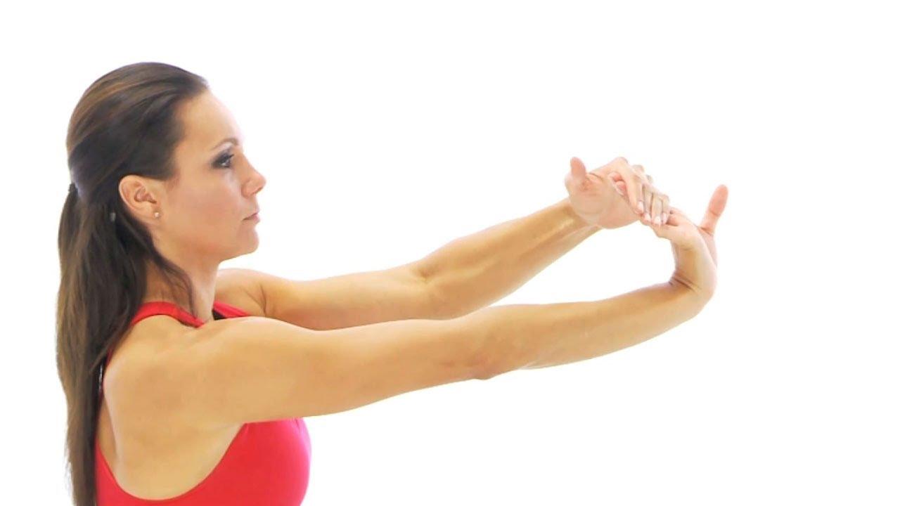 Wrist exercise - wrist flexor stretch - YouTube