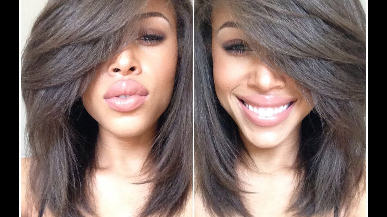 Straighten Natural Curly Hair In Depth 3c 4a 4b