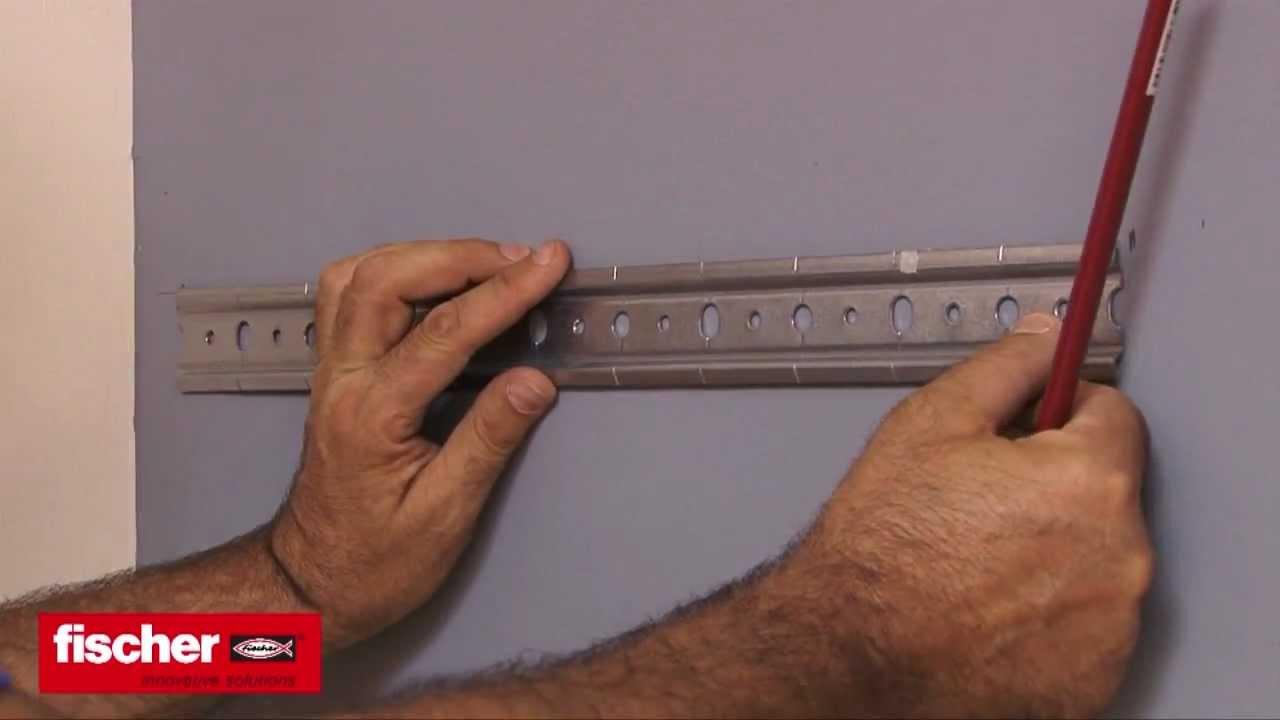 Come montare un pensile su cartongesso con tassello fischer HM ...
