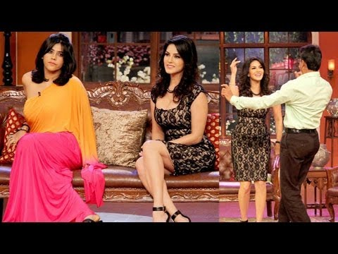Sunny Leone & Ekta Kapoor on Comedy Nights with Kapil