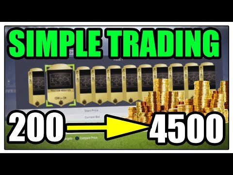SIMPLE TRADING METHOD - Fifa 18 FUT Trading tips