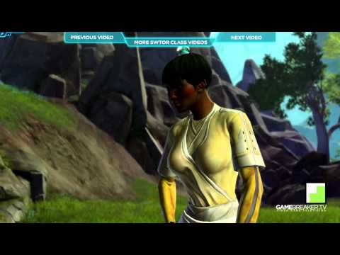 ★ Star Wars The Old Republic - Jedi Consular - Gannons Gameplay