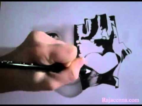 Nữ họa sĩ 18 tuổi vẽ tranh như thật! - đầu hàng!!!