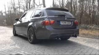 BMW Performance Auspuff ESD 335i videos