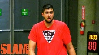 7'5 Sim Bhullar 2014 NBA Draft Workout Tallest Player In