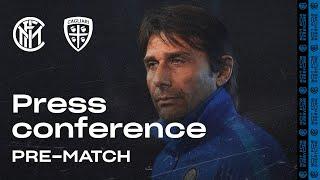 INTER vs CAGLIARI | Antonio Conte Pre-Match Press Conference LIVE 🎙⚫🔵?? [SUB ENG]