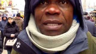 John Onoje se plînge că i-au tăiat geanta unionistă