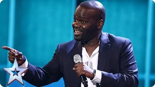 Daliso Chaponda brings the LOLZ for your votes | Semi-Final 5 | Britain's Got Talent 2017