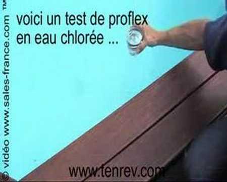 Proflex colle piscine sous l 39 eau incroyable youtube for Colle carreaux piscine