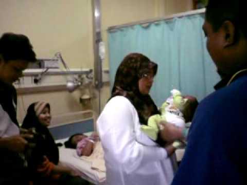 Kelahiran Fatin Aqilah, 16 Januari 2010 ( VIDEO 3)