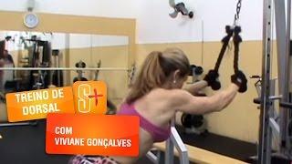 Treino de Dorsal com Viviane Gonçalves