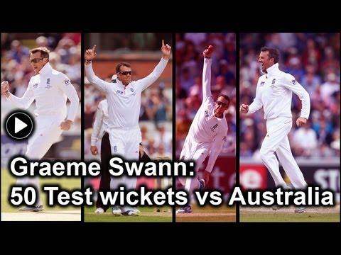 Ashes 2013: An analysis of Graeme Swann's 50 Test wickets against Australia