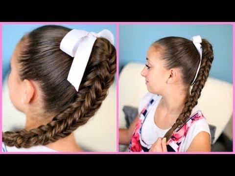 Box {Four-Sided} Fishtail Braid | Wear it Down or Up in a Bun!