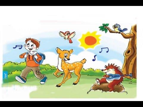 Dạy trẻ học-Nhận biết các con vật trong rừng
