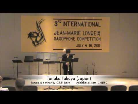 3rd JMLISC: Tanaka Takuya (Japan) Sonata in a minor by C.P.E. Bach