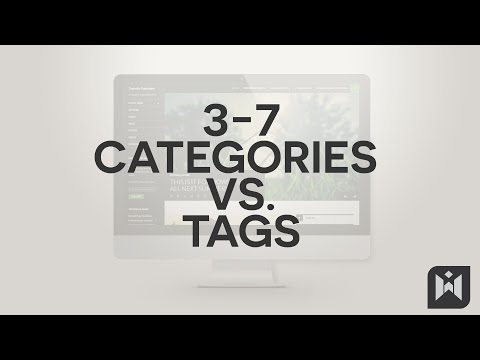 WordPress for Beginners 2015 Tutorial Series | Chapter 3-7: Categories vs. Tags