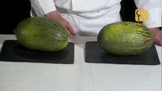 Como distinguir un melón maduro