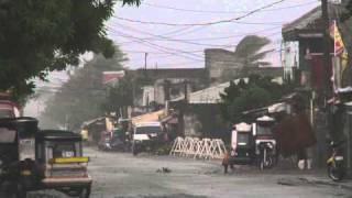 Super typhoon Megi / Juan Philippines Raw Footage / 台風第13号 (メーギー) / 台風梅姬