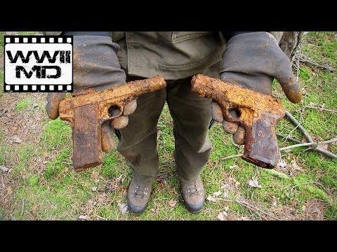 World War II Metal Detecting - German Guns - Eastern Front Battlefield Relic Hunting (HD)