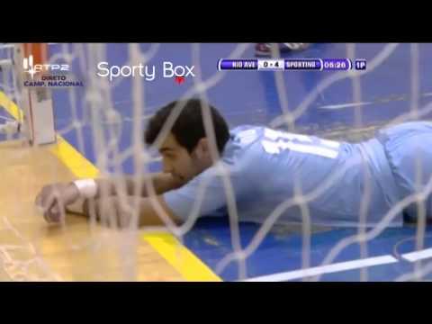 Futsal :: 16J :: Rio Ave - 1 x Sporting - 7 de 2013/2014