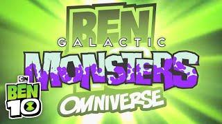 Ben 10 Omniverse: Galactic Monsters Cartoon Network