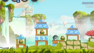 Angry Birds Star Wars 2 Level B1-2 Naboo Invasion 3 Star