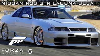 Xbox One Forza Motorsport 5 Nissan R33 GTR Laguna Seca