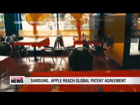 Samsung, Google reach global patent agreement