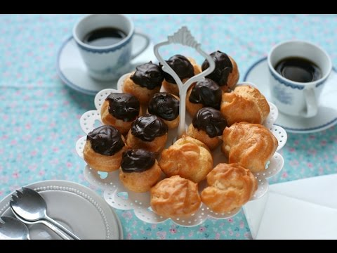Cách làm bánh SU KEM - How to make CREAM PUFFS (Recipe) - Ep.8