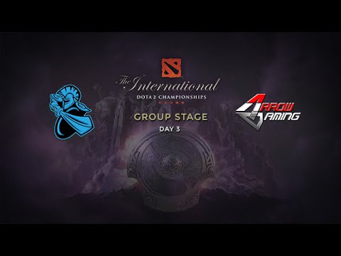 NewBee -vs- Arrow, The International 4, Group Stage, Day 3