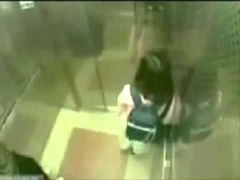 Nữ sinh hạ gục 1 tên hiếp dâm trong thang máy !