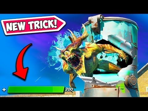*NEW TRICK* 1 TO 200 HP INSTANTLY!! - Fortnite Funny Fails and WTF Moments! #806