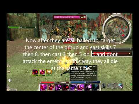 Guild Wars Ledge Farming Normal Mode with Ninja Nijet (Nerfed)