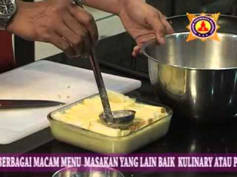 video cara membuat bread & butter pudding-info dvd tutorial hub 031 ...