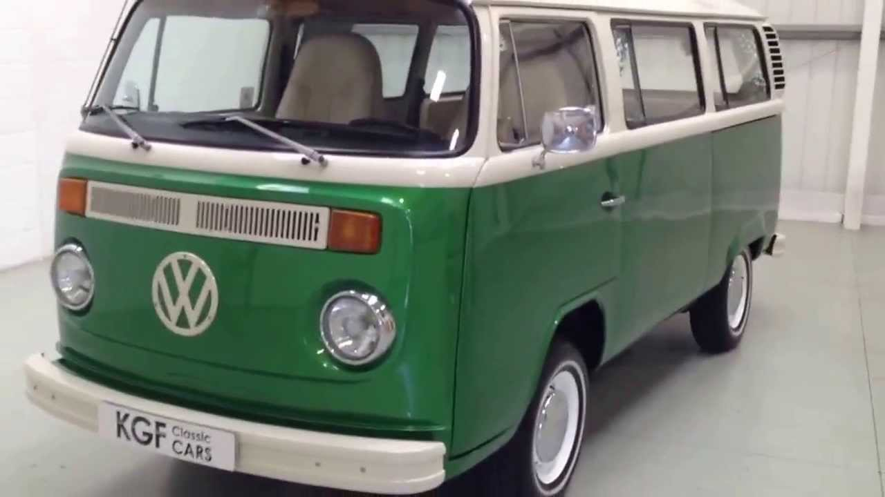A Fabulous Bay Window T2 Vw Camper Van Painstakingly