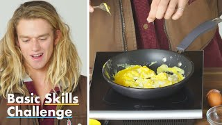50 People Try to Make Scrambled Eggs | Basic Skills Challenge | Epicurious