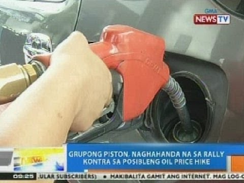 NTG: Grupong Piston, naghahanda na sa rally vs. posibleng oil price hike