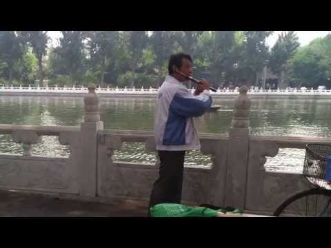 Only happens in Beijing- China - street Music