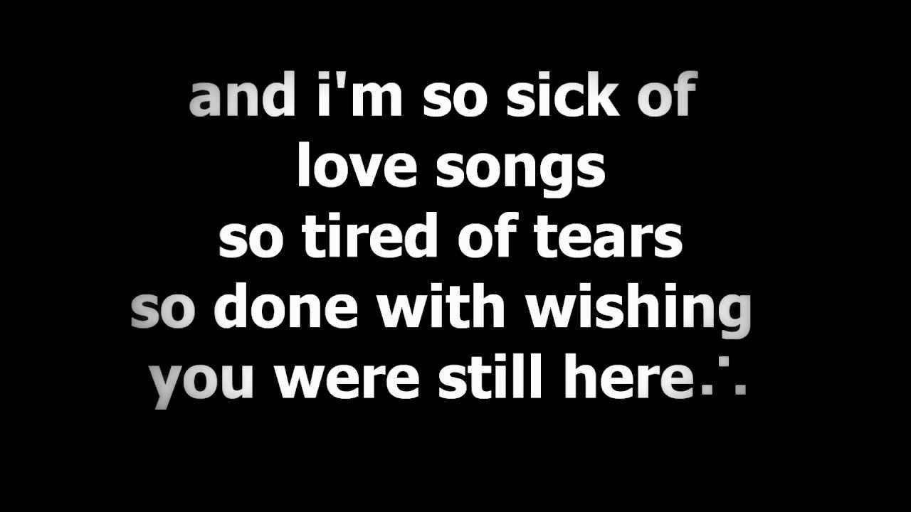 Ne-Yo - So Sick Lyrics | MetroLyrics