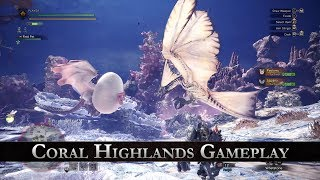 Monster Hunter: World - Coral Highlands Játékmenet