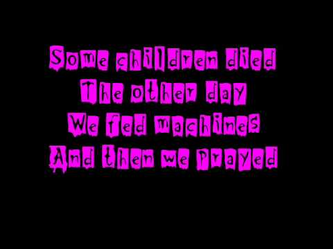 Marilyn Manson - The Nobodies - Lyrics