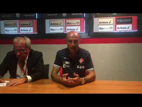 Copertina video Cremonese-Piacenza 1-2/interviste 2