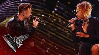Jennifer Hudson Joins Olly Murs in a Duet on His One-Off Show Happy Hour | The Voice UK 2019