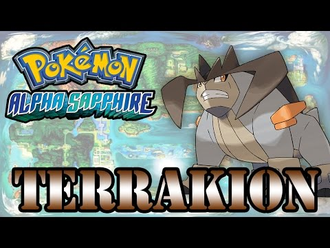 Caçando Lendários [Pokémon Alpha Sapphire] - Terrakion