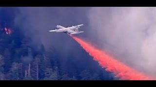 High-Tech Military Technology Being Used to Fight Yosemite Wildfires