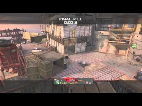 SICK MW3 Crane Shot! | FaZe Twistt
