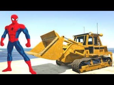 Xe cẩu xúc cát