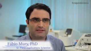 Quem são seus Craques da Ciência? Com Fábio Mury -- Sr. Field Applications Scientist